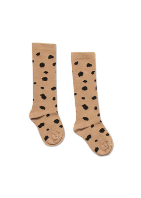 Petit Blush Petit Blush : Knee socks - Animal spots