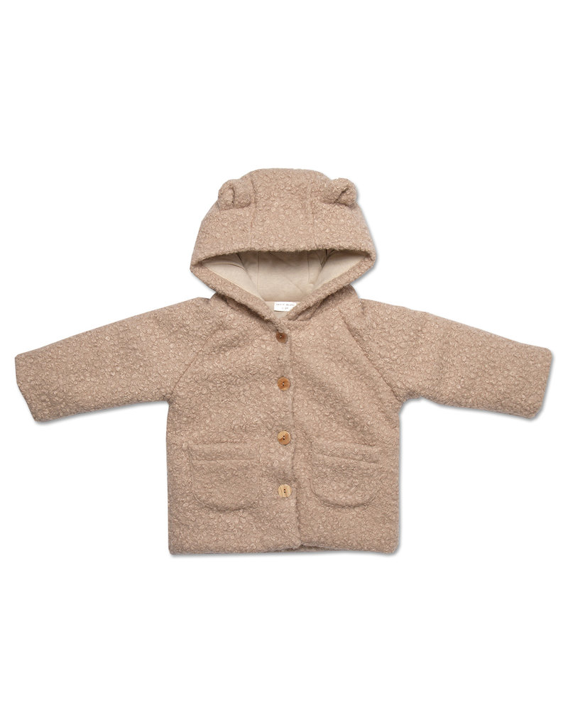Petit Blush Petit Blush : Teddie jacket - Sand