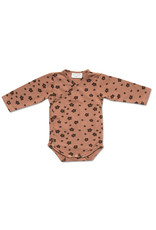 Petit Blush Petit Blush : Kimono newborn - Brown floral