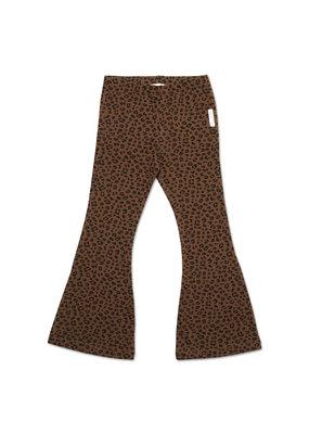Petit Blush Petit Blush - Bowie flared pants - Brown leopard
