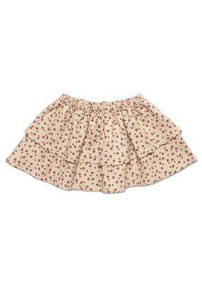 Petit Blush Petit Blush : Mini layer skirt - Mini disty print