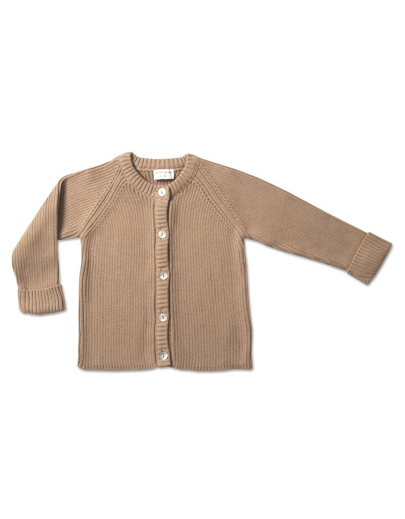 Petit Blush Petit Blush : Knit Cardigan - Sand