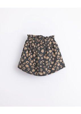 Play Up Play Up : Jacquard skirt dark