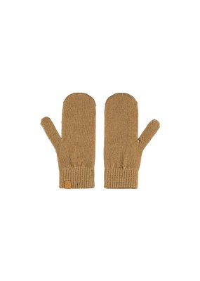 Lil ' Atelier Lil ' Atelier : Knit mittens - Tobacco brown
