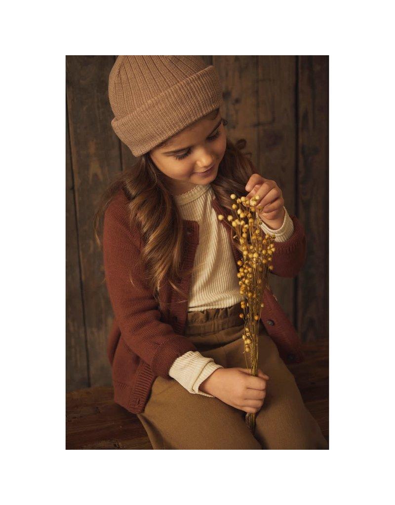 Lil ' Atelier Lil ' Atelier : Knit hat muts - Almondine