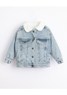 Play Up Play Up : Denim cotton jacket