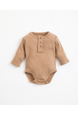 Play Up Play Up : rib romper paper