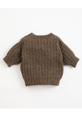 Play Up Play up : Knitted jersey - coffee