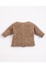Play Up Play up : Knitted jacket with recycled fibres - paper