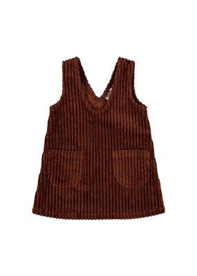 Lil ' Atelier Lil ' Atelier : Loos corduroy spencer dress