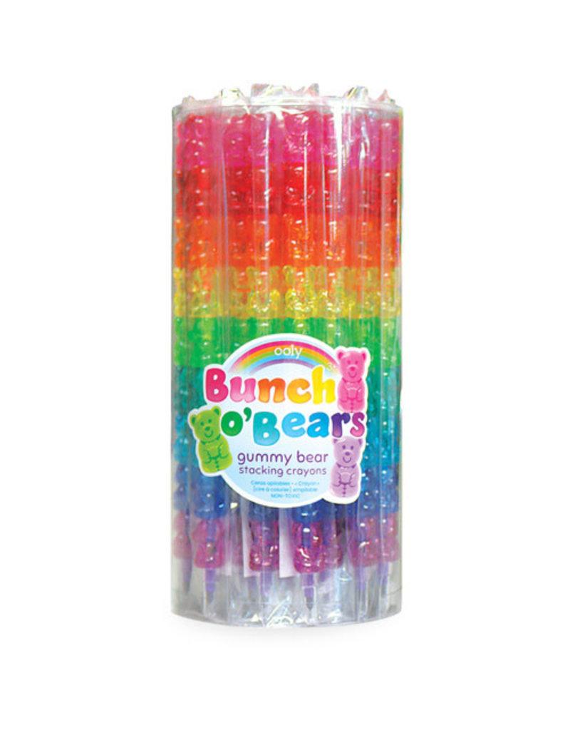 Ooly Ooly - Bunch O Bears Stapel Krijtjes