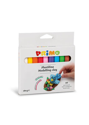 Primo Primo - Kneedklei 10 kleuren