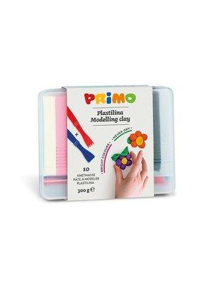 Primo Primo - Kneedklei 10 kleuren in box