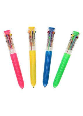 Primo Primo - Blauwe pen met 10 kleuren