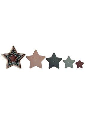 Mushie Mushie - Nesting star stapeltoren