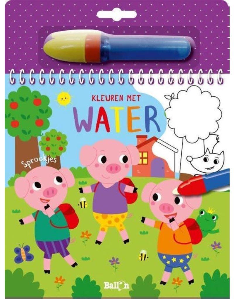 Boeken Boek: Kleuren met water Sprookjes