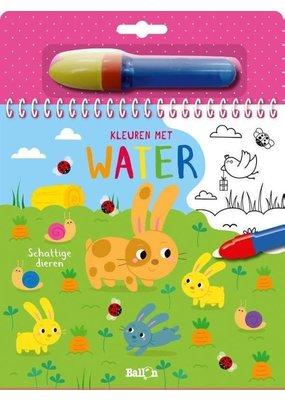 Boeken Boek: Kleuren met water Schattige dieren