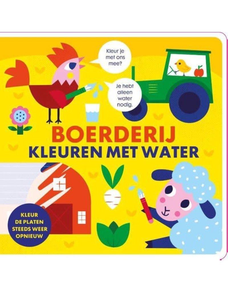 Boeken Boek: Boerderij kleuren met water