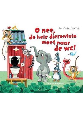 Boeken Boek: O nee, de hele dierentuin moet naar de WC