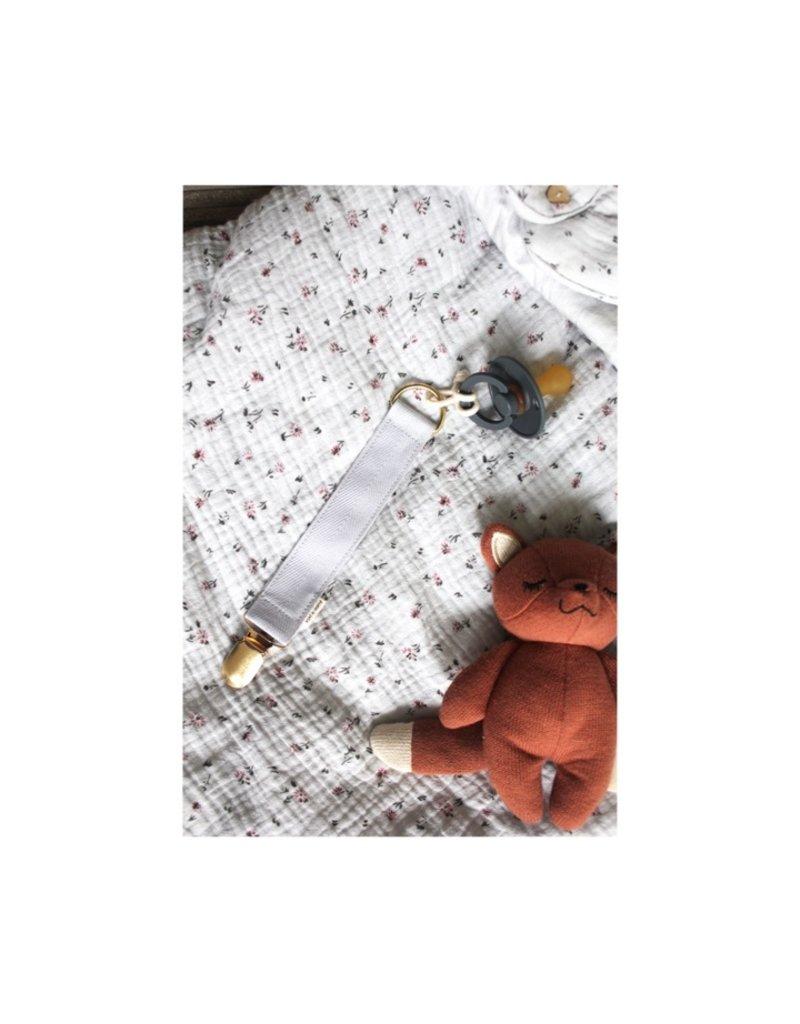 Atelier le petit Atelier le petit: Pacifier clip Violet
