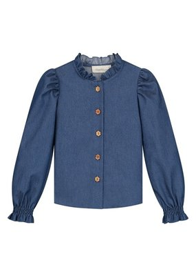 Charlie Petite Charlie Petite: Barbara denim blouse