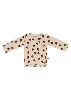 Carlijn Q CarlijnQ - Waffle Kimono shirt baby