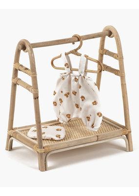 Minikane Minikane: Poppenkleding rek rotan