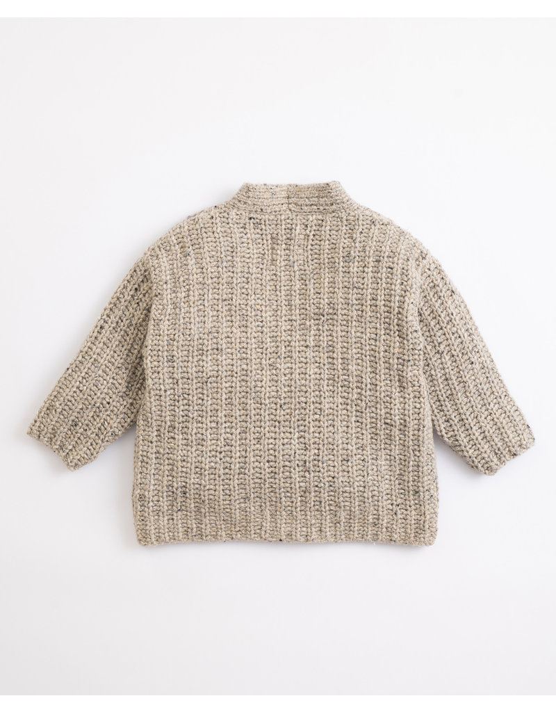 Play Up Play Up : Knitted jacket with pockets grey