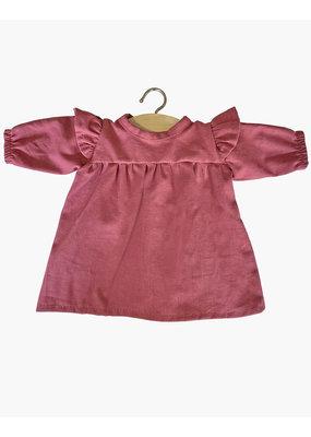 Minikane Minikane : Poppenkleding jurkje oud roze
