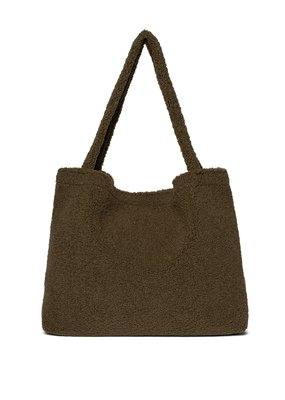 Studio Noos Studio Noos : Green teddy mom-bag