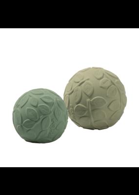 Natruba Natruba : Leaf sensory ball set- Green