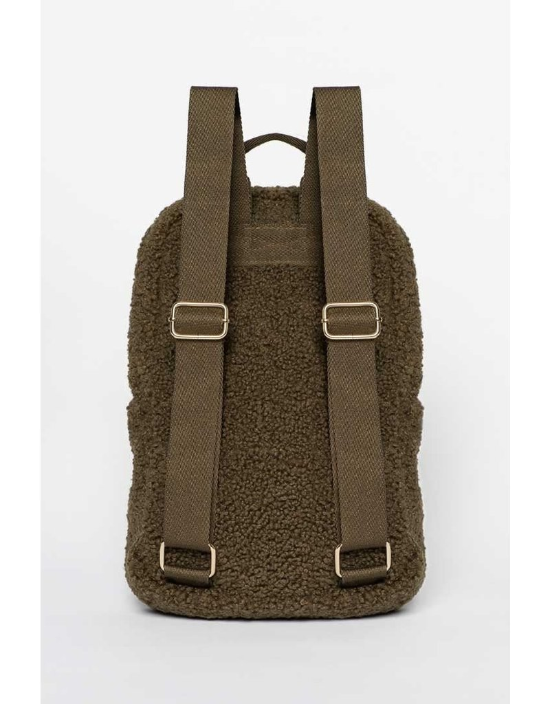 Studio Noos Studio Noos : Dark green noos mini-chunky backpack