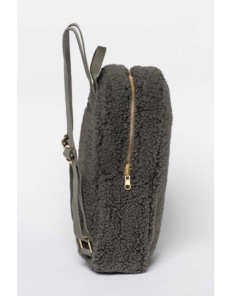 Studio Noos Studio Noos : Dark grey noos mini-chunky backpack