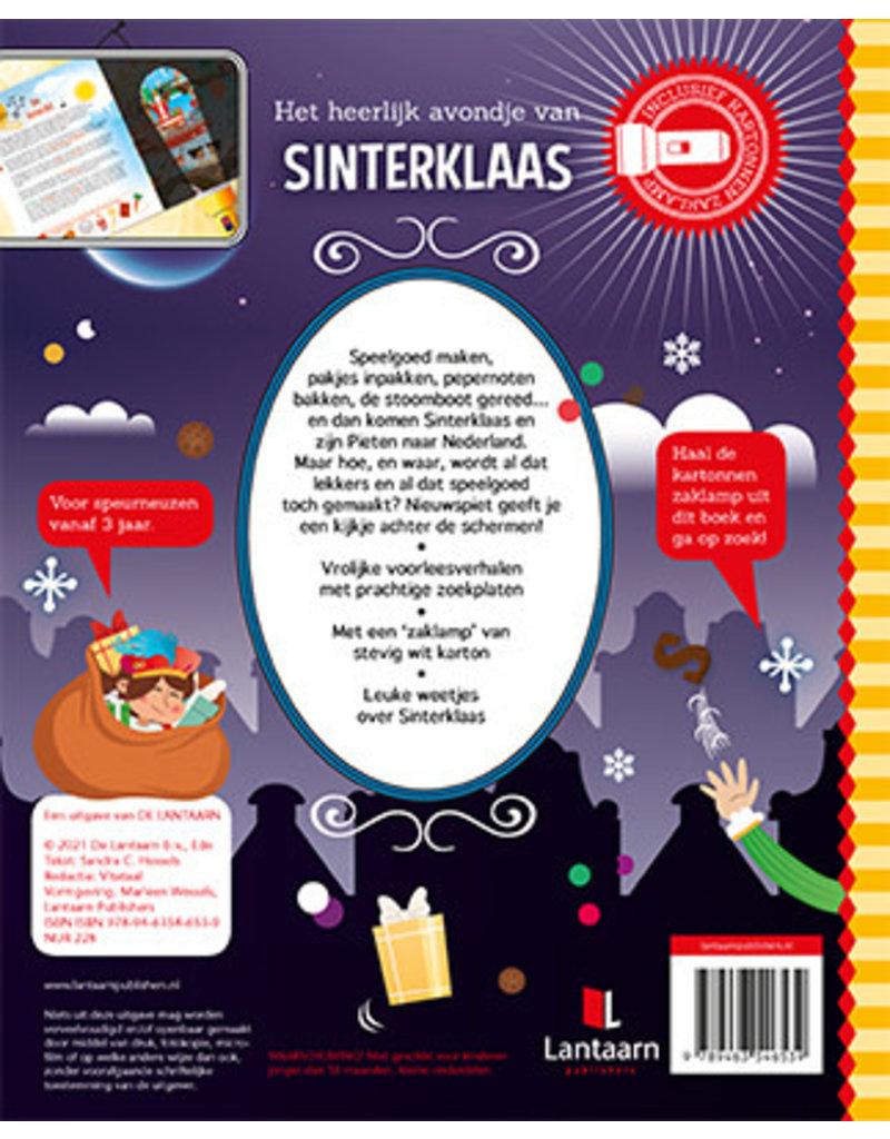 Boeken Zaklampboek - Het heerlijk avondje van Sinterklaas
