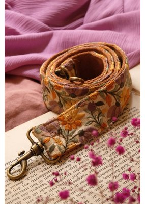 La N'Atelier La ' N Atelier : Strap goud - lila