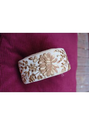 La N'Atelier La N' Atelier : Goud glitter bloem
