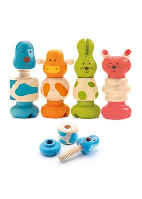 Djeco Djeco - Vis-animo schroef dieren