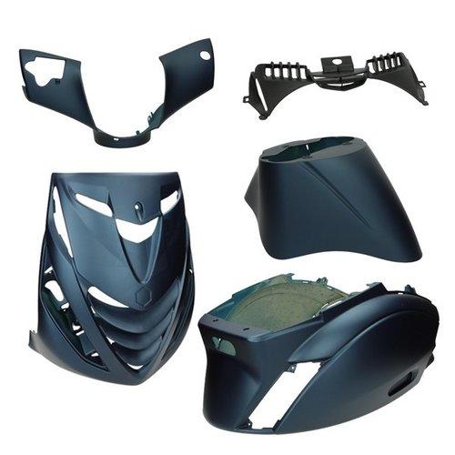 DMP Kappenset model SP zip2000 blauw donker mat DMP 5-delig