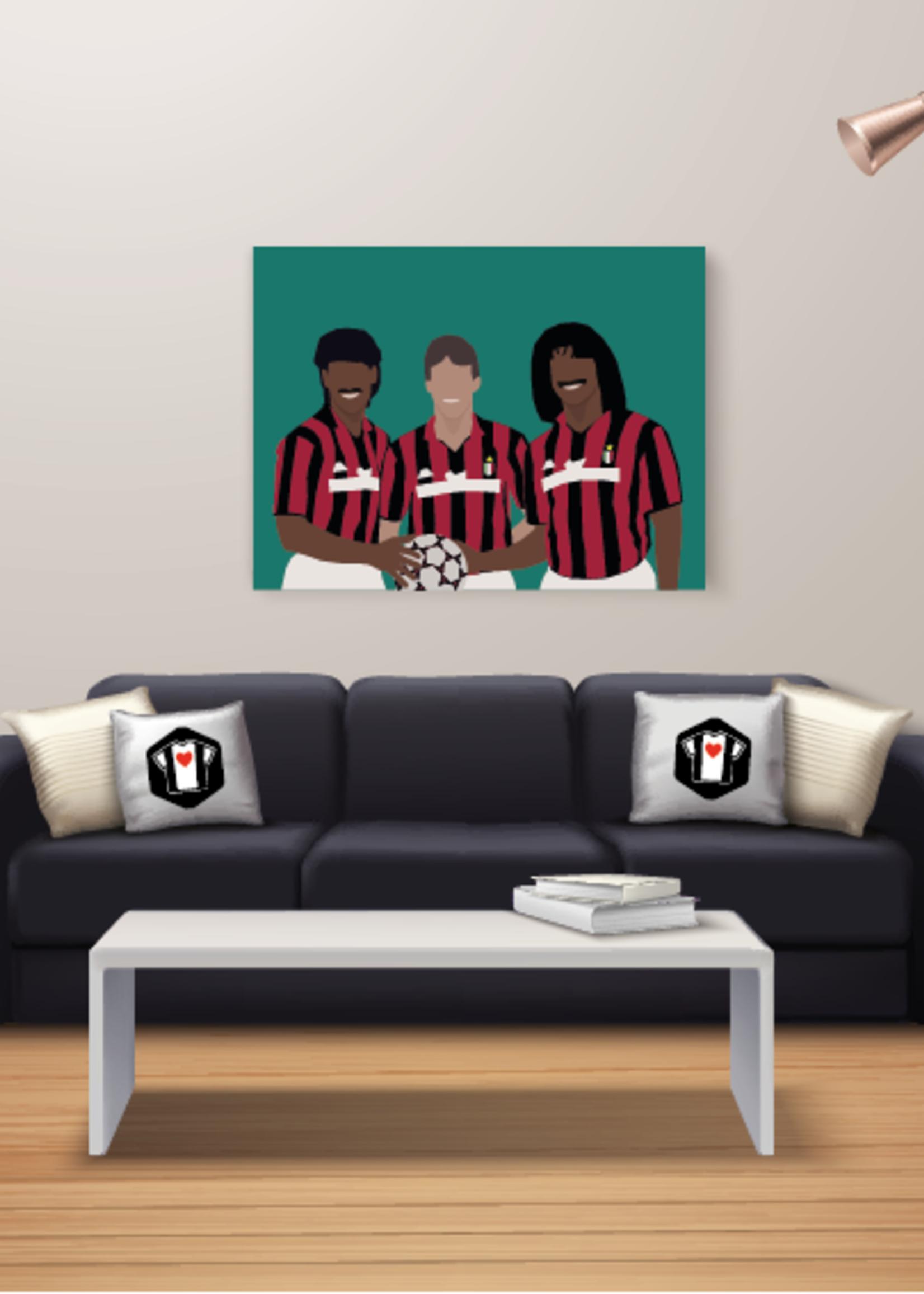 "We Love Football Art ""The big three"" We Love Football Art"