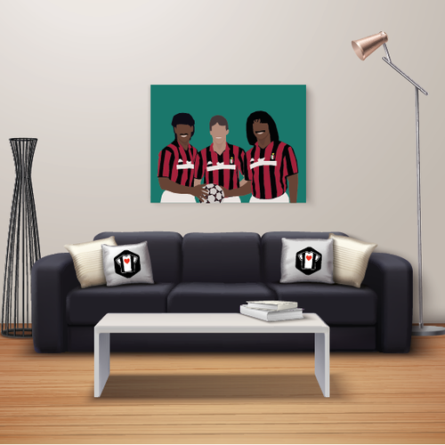 "We Love Football Art ""The big three"" We Love Football Art"