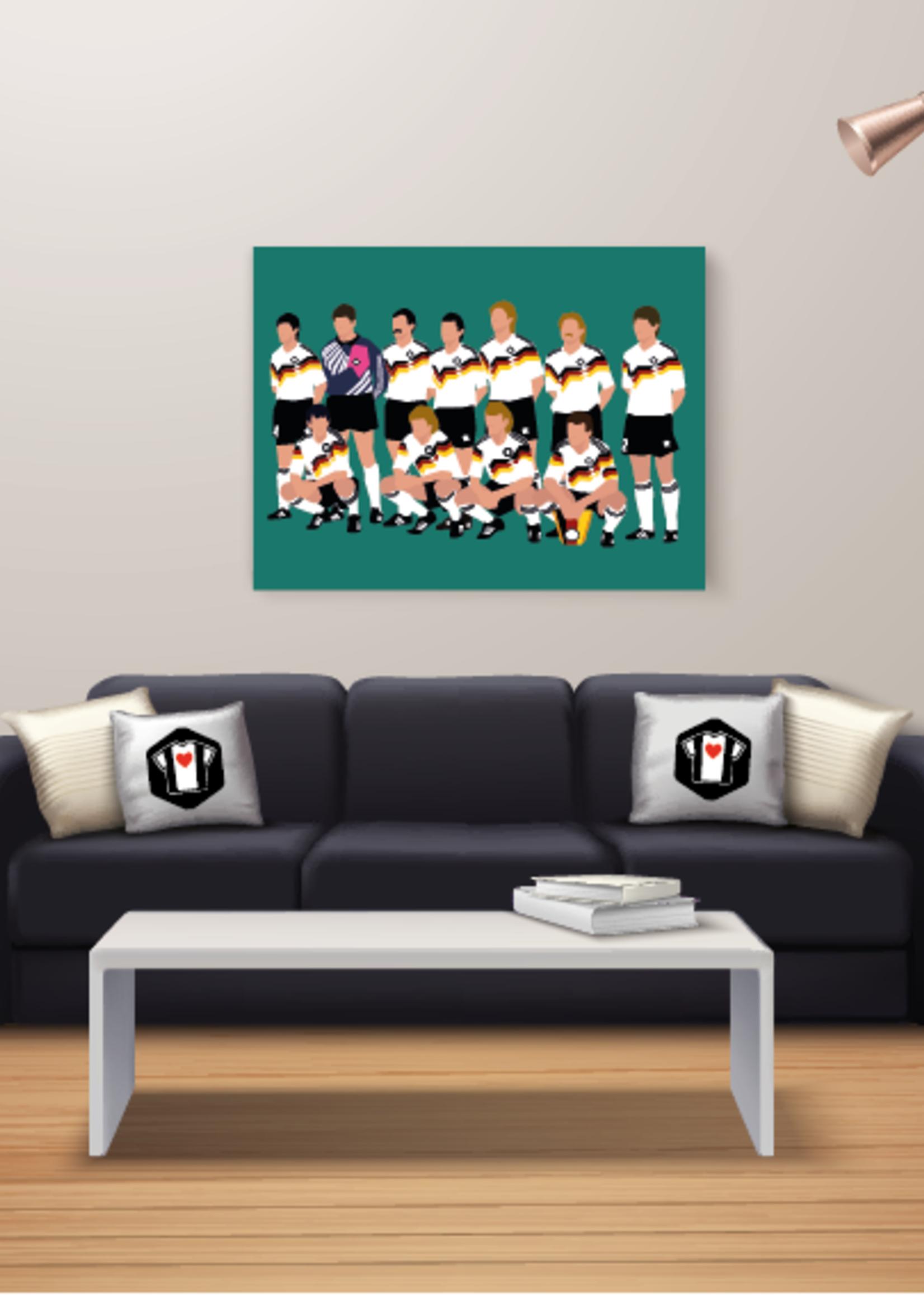 """We Love Football Art """"Die Mannschaft '90"""" We Love Football Art"""