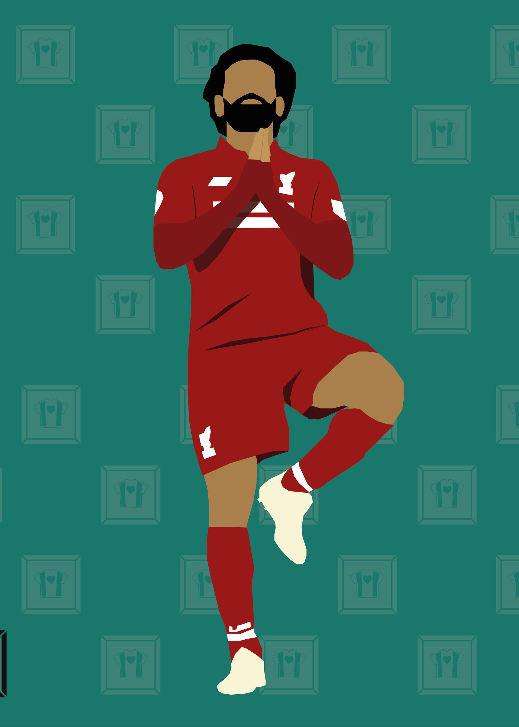 "We Love Football Art ""Ägyptischer König"" We Love Football Art"