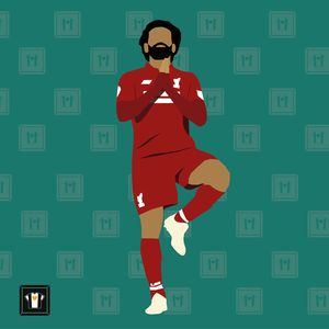 "We Love Football Art ""EGYPTIAN KING"""
