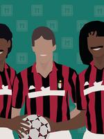 "We Love Football Art ""THE BIG THREE"""