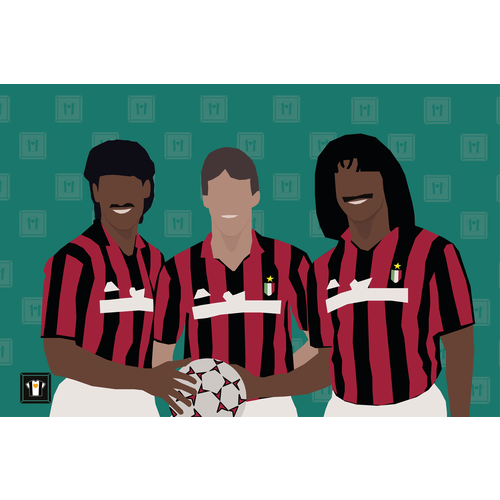 "We Love Football Art ""THE BIG THREE"""