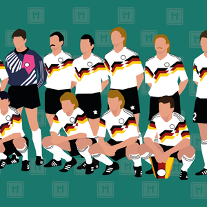 "We Love Football Art ""DIE MANNSCHAFT '90"""
