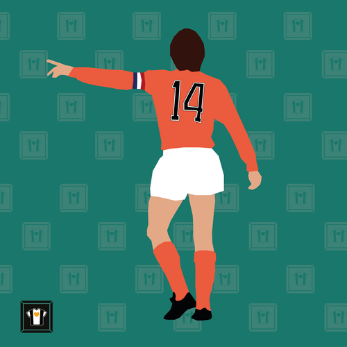 "We Love Football Art ""NUMMER 14"""