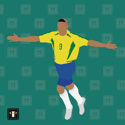 "We Love Football Art ""O FENOMENO"""