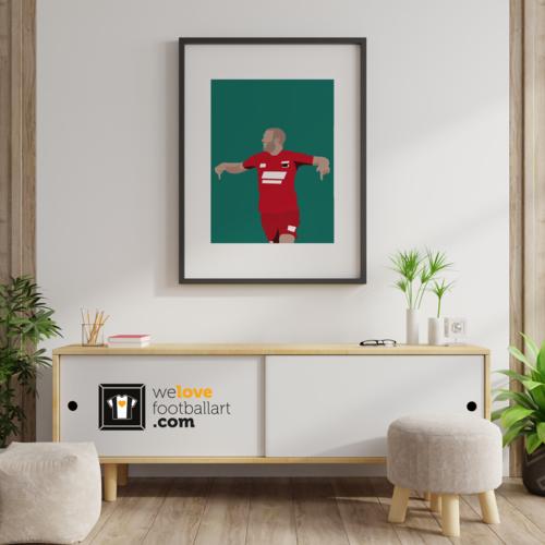 "We Love Football Art ""Ron beton"" We Love Football Art"