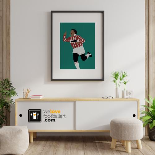 "We Love Football Art ""O Baixinho"" We Love Football Art"